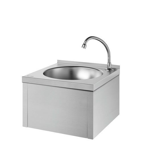 Delabie 182310 SXS Wall-Mounted Knee-Operated Washbasin