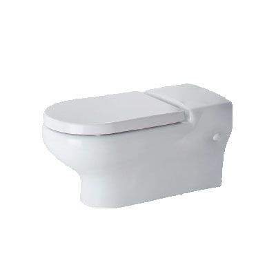 H&L Rimless Flush 700mm Extended Projection Wall-Hung WC Pan