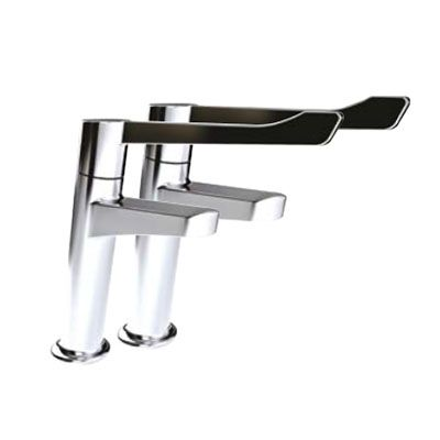 Inta Deck-Mounted Manual Pillar Tap (Pair)