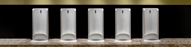Healey and Lord Niagara Art Deco Vintage Urinals